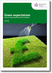 Green Expectations - Consumers understanding of green claims in advertising
